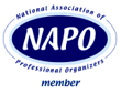 Member of the National Association of Professional Organizers