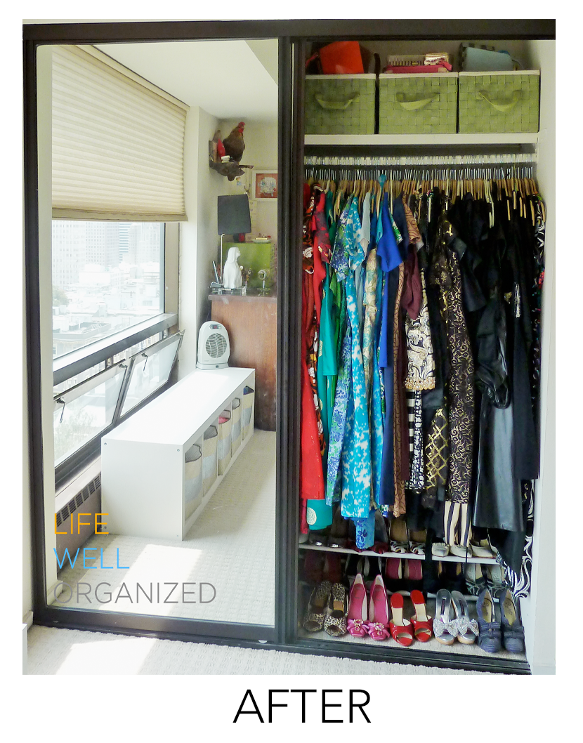 Life Well Organized: Vintage Couture Closet After